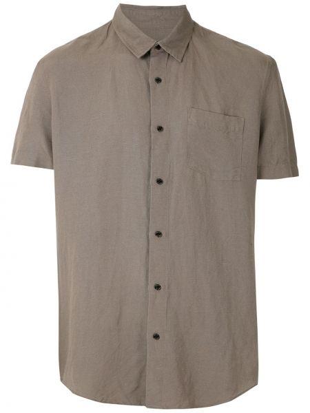 Прямая классическая рубашка с воротником с карманами на пуговицах Osklen