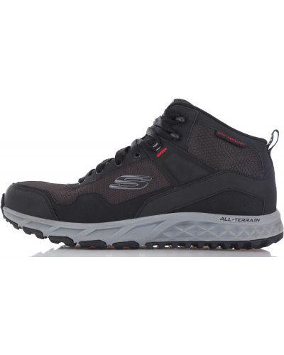Кожаные ботинки спортивные резиновые Skechers