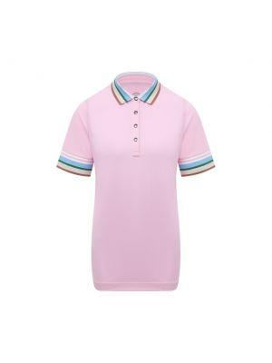 Розовое хлопковое поло Bogner