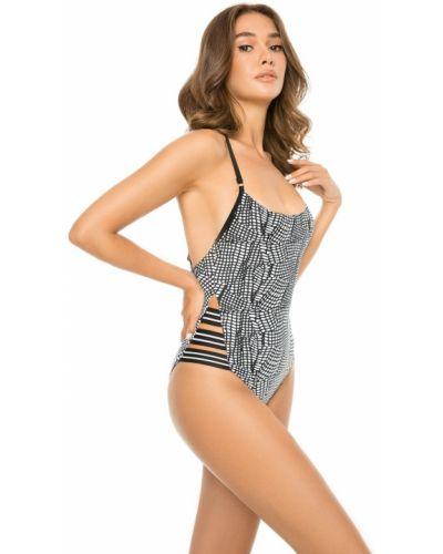 Слитный купальник с открытой спиной - белый Anabel Arto