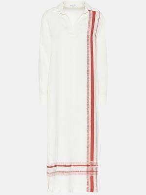 Платье шелковое стрейч Loro Piana