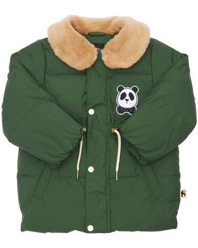 Дутая куртка - зеленая Mini Rodini