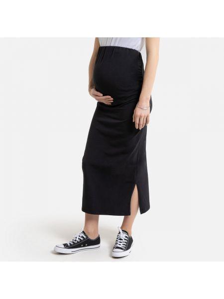 Платье для беременных миди с поясом La Redoute