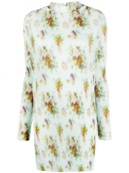 Платье из полиэстера - зеленое Frankie Morello
