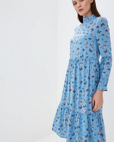 Платье осеннее прямое Tutto Bene