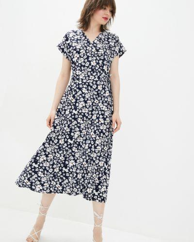 Платье с запахом - черное Danna