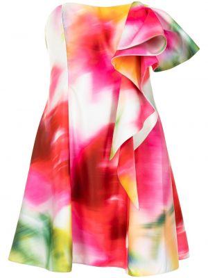 Платье с открытой спиной Marchesa Notte
