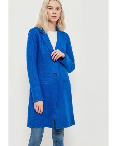Синее пальто весеннее Only