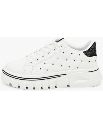 Текстильные белые ботинки Ideal Shoes®