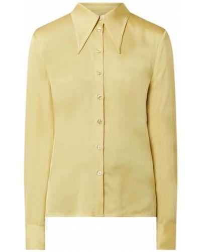 Żółta bluzka z wiskozy Gestuz