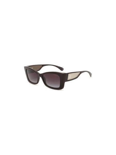 Муслиновые фиолетовые солнцезащитные очки Chanel