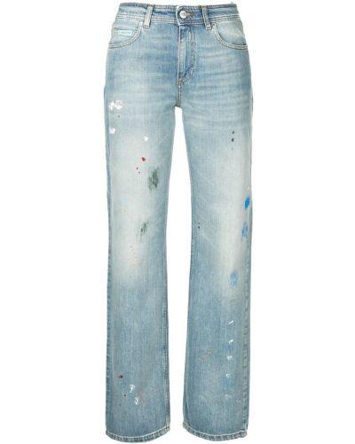 Прямые джинсы синие Alexa Chung