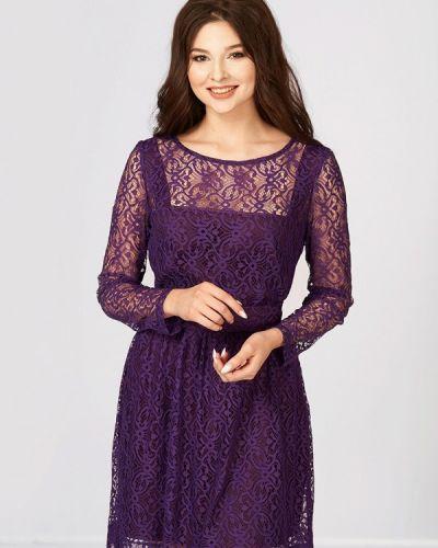 Коктейльное платье фиолетовый Ано