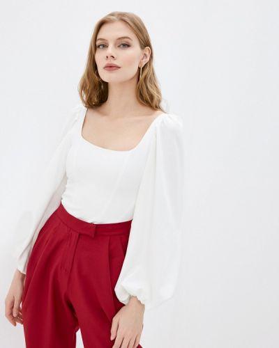 Брендовая белая блузка Lipinskaya Brand