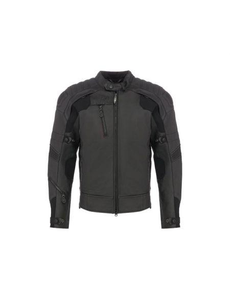 Кожаная черная кожаная куртка с декоративной отделкой с подкладкой Harley Davidson