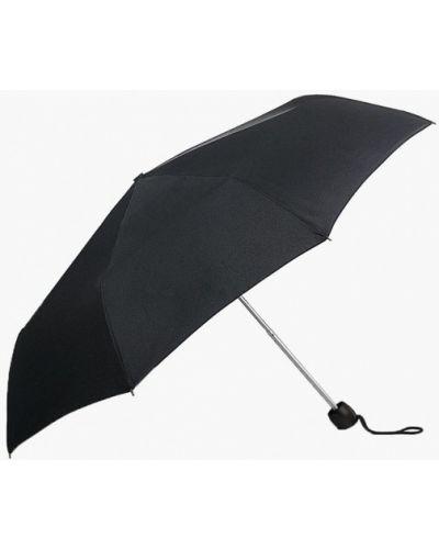 Черный зонт складной Fulton