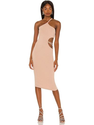 Кожаное платье Lna