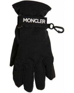 Rękawiczki z jednym palcem z mankietami Moncler
