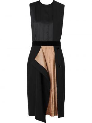 Платье миди с поясом в клетку Burberry