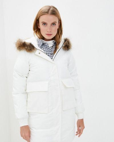 Теплая белая куртка Mallanee