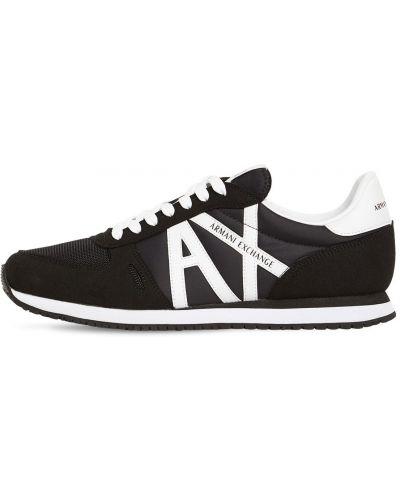 Ажурные кроссовки на шнуровке Armani Exchange