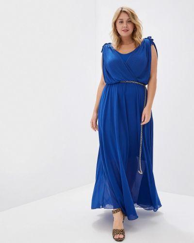 Вечернее платье итальянский синее Kitana By Rinascimento