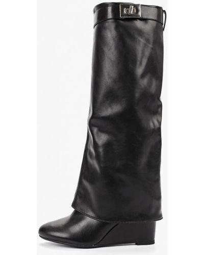 Ботинки на каблуке черные осенние Bellamica