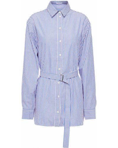 Niebieska koszula bawełniana w paski Claudie Pierlot