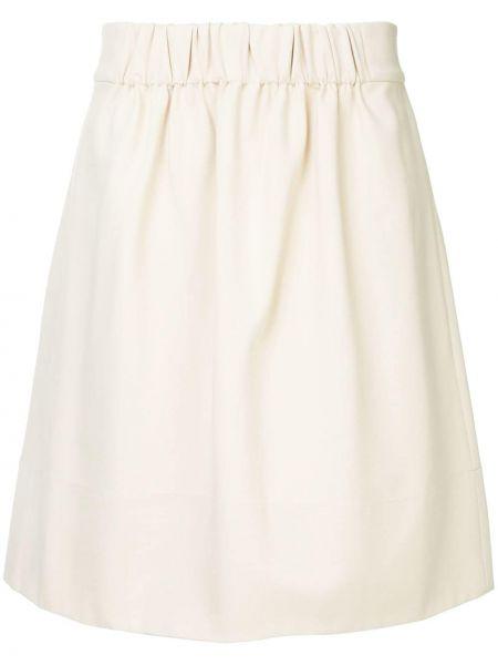 Bawełna bawełna beżowy spódnica ołówkowa Tibi