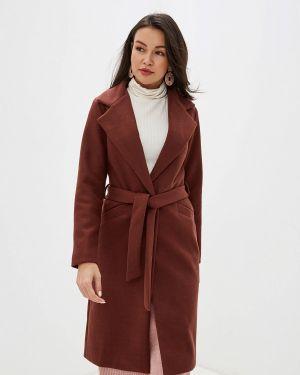 Пальто демисезонное бордовый Trendyangel