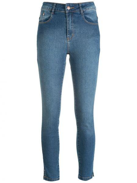 Синие джинсы с завышенной талией Amapô