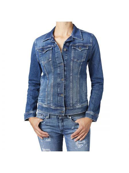 Джинсовая куртка прямая Pepe Jeans