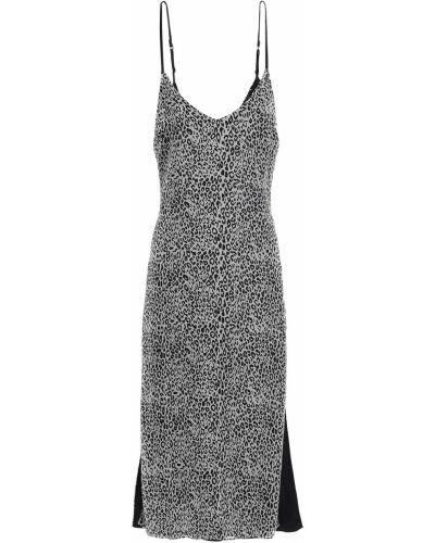 Шелковое платье миди Amiri