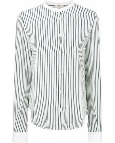 Блузка в полоску с вырезом Forte Forte