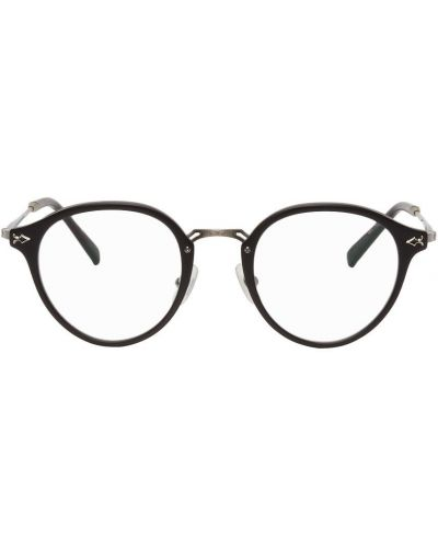 Czarne okulary skorzane Matsuda