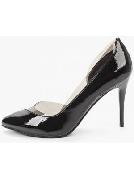 Кожаные туфли черные осенние Betsy