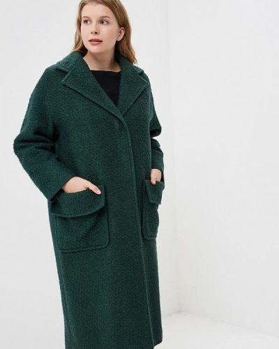 Пальто демисезонное зеленое Ruxara