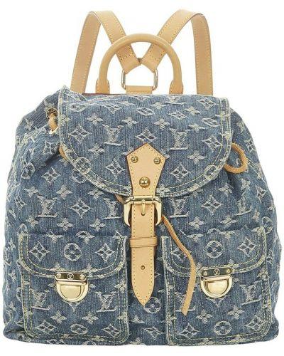 Niebieskie jeansy Louis Vuitton Vintage