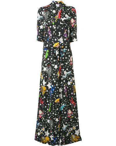 Платье макси на пуговицах классическое Ultràchic