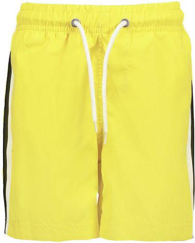 Плавки желтый с узором Blue Seven
