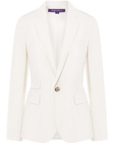 Шерстяной пиджак - бежевый Ralph Lauren