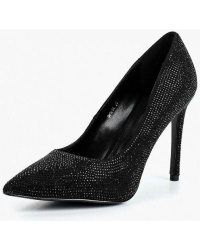Туфли-лодочки на каблуке замшевые Vitacci