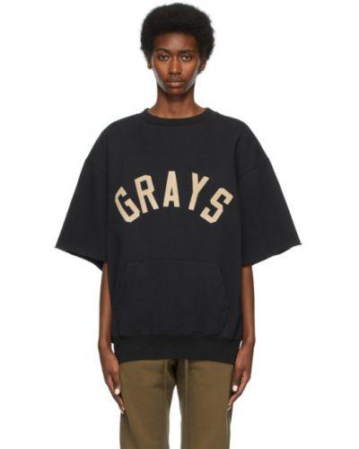 Czarny t-shirt bawełniany Fear Of God