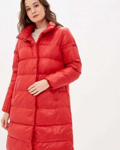 Красная зимняя куртка Baon