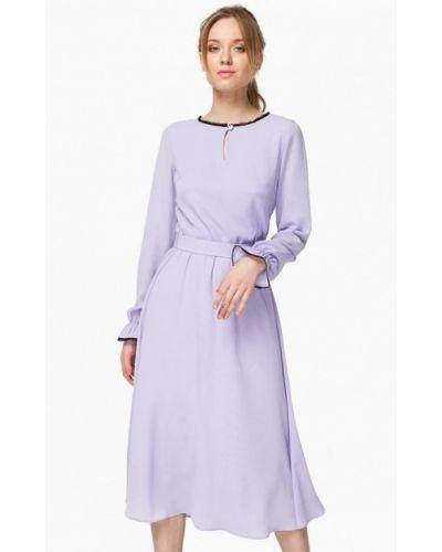 Платье весеннее фиолетовый Nai Lu-na By Anastasia Ivanova