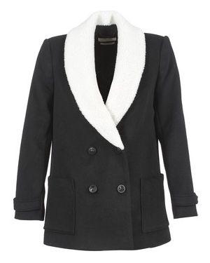 Czarny płaszcz przeciwdeszczowy Teddy Smith