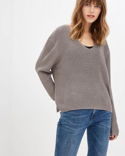 Пуловер серый Fresh Brand