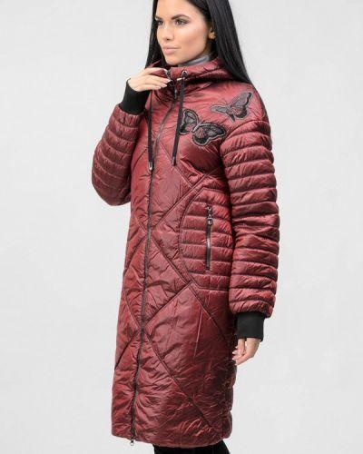 Утепленная красная куртка Raslov