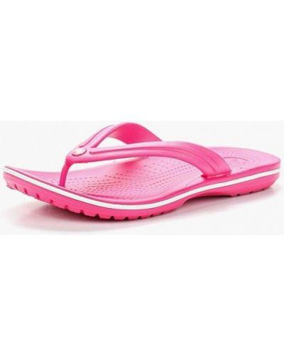Пляжные шлепанцы розовый Crocs