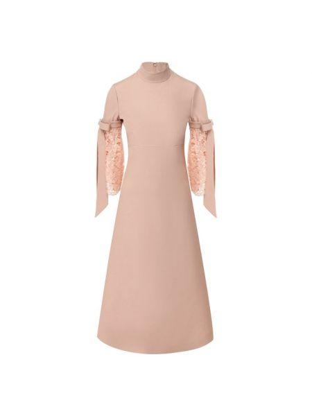 Платье миди шелковое из крепа Valentino
